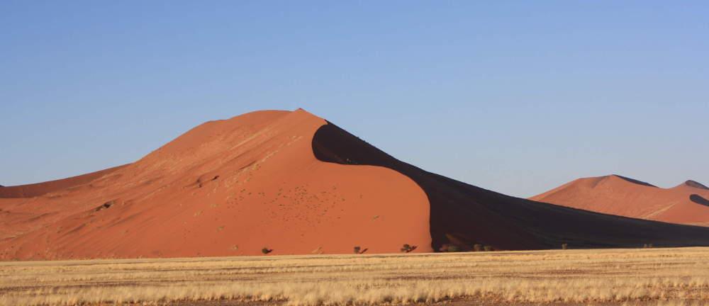 Zugreise Afrika - Dünen Namibia - African Explorer und Rovos Rail