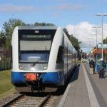 Bahn-Urlaub Usedom - UBB Usedomer Bäderbahn in Swinoujscie Centrum