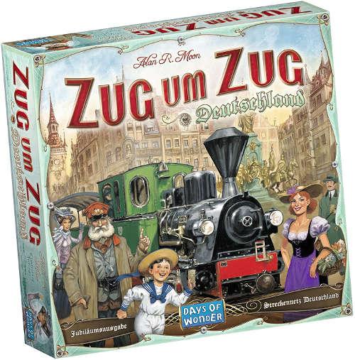 Eisenbahn-Geschenke - Zug um Zug Brettspiel