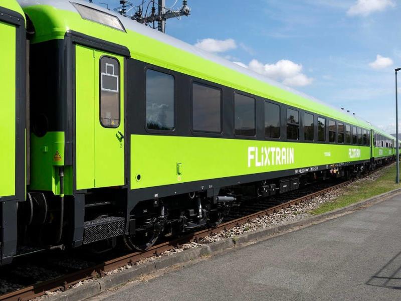 Flixtrain - modernisierte Wagen