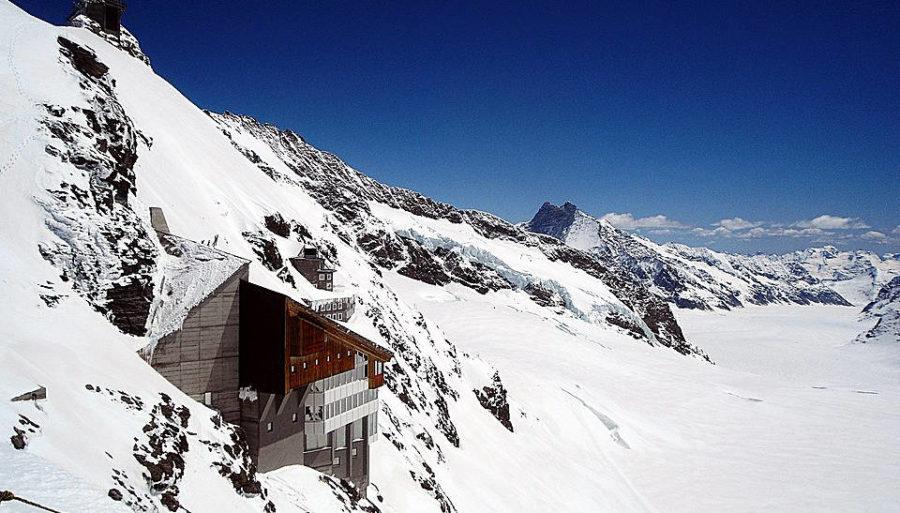 Jungfraubahn - Aletschgletscher