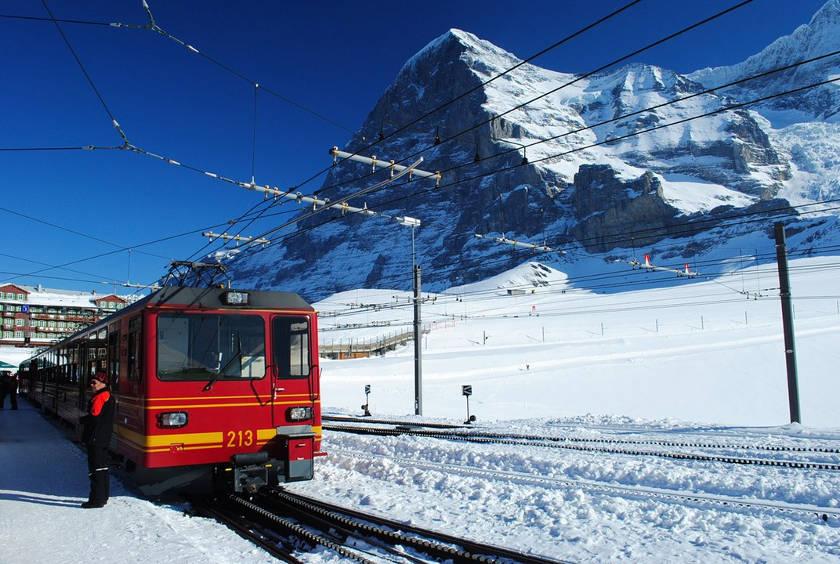 Jungfraubahn - Eiger