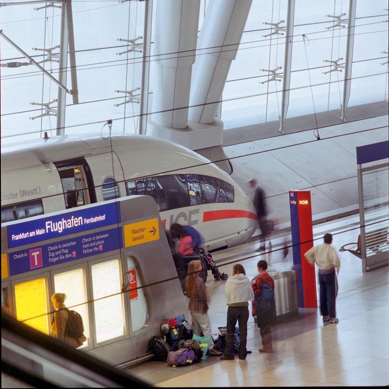 Rail and Fly - Bahnhof Frankfurt am Main Flughafen
