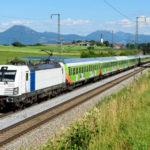 Alpen-Sylt-Nachtexpress NEX - Zug-Ansicht