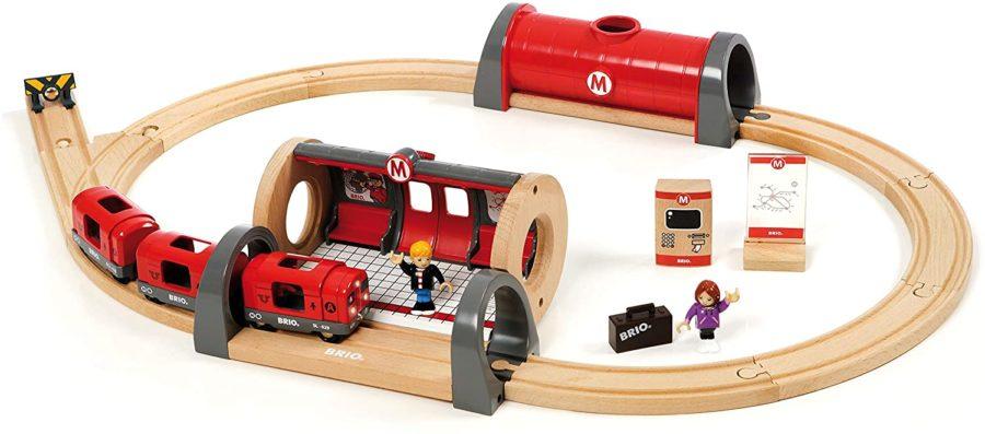 Brio Holzeisenbahn U-Bahn Set