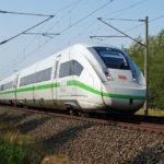 Deutsche Bahn - ICE 4 - grünes Design