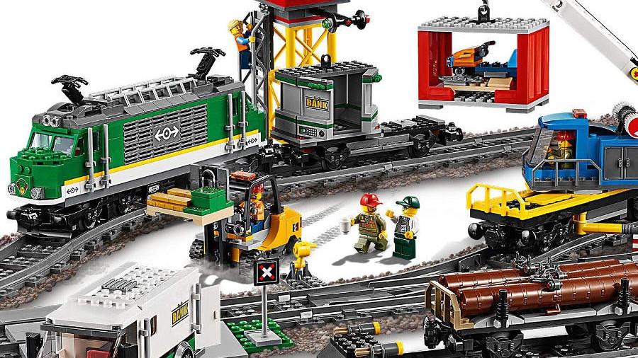 Lego City Eisenbahn 60198 - Güterzug mit Fernsteuerung