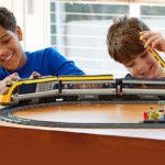 Lego Eisenbahn im Einsatz