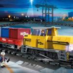 Playmobil Eisenbahn - RC-Güterzug mit Licht