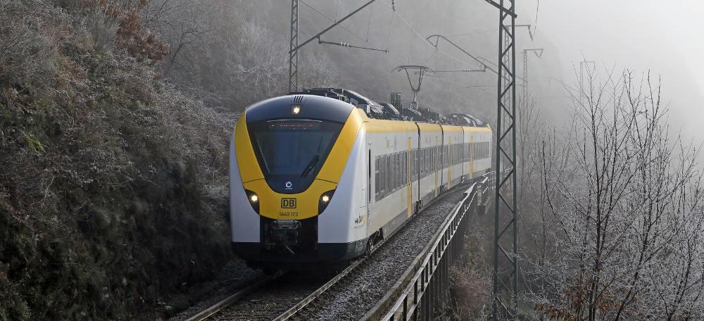 Höllentalbahn im Winter