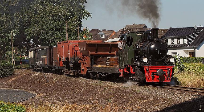 Selfkantbahn zwischen Schwierwaldenrath und Gillrath
